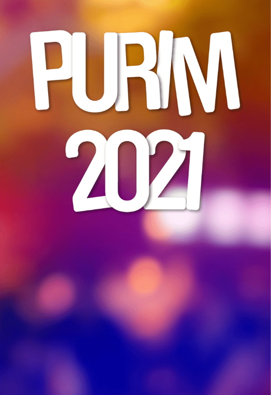 Purim Live 2021 | Friday 26 February